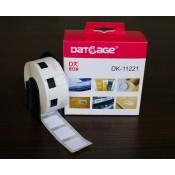 LA11221 Etiketten wit kompatibel voor Brother PTouch DK11221