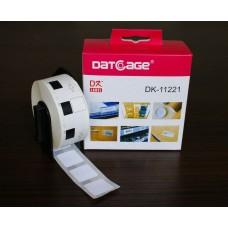 LA11221 Etiketten wit kompatibel voor Brother PTouch DK11221..