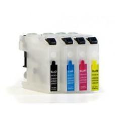 Hervulbare LC-123, 125, 127 inktcartridges met ARC..