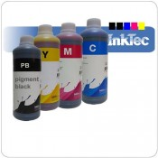 BRO1000Set Brother compatible dye inkt set LC970/1000 CMYB 4x1000ml