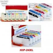 Hervulbare 24XL inktpatronen voor Epson Expression Photo printers -HIP-24XL
