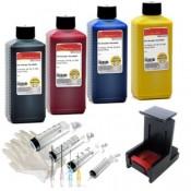 NVS4-300 Navulset printer inkt voor HP300(xl) kleur en zwart cartridges