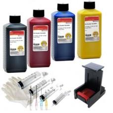 NVS4-300 Navulset printer inkt voor HP300(xl) kleur en zwart cart..