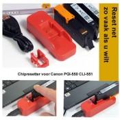 RES550 Chipresetter voor Canon PGI-550 en CLI-551 inktcartridges