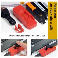 RES550 Chipresetter voor Canon PGI-550 en CLI-551 inktcartridges..