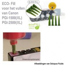 Eco Fill Spuiten met luerlock opzet vulstuk..